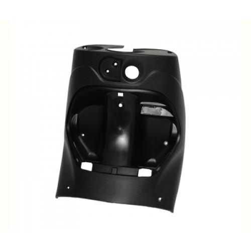 Beenschild Piaggio zip antraciet of zwart.