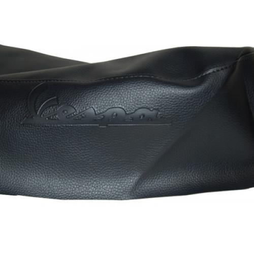 Buddydek Vespa Lx zwart + Vespa logo