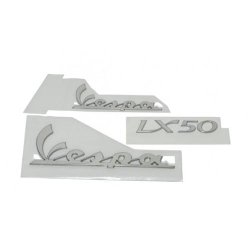 Stickerset Vespa Lx Alu