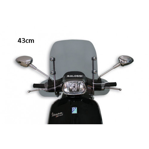 Windscherm smoke medium Malossi Vespa Sprint
