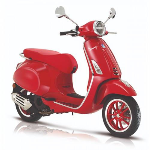 Vespa Primavera Red Edition Euro-5