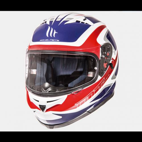 Helm Blade SV Morph rood/blauw/wit. Diverse maten.