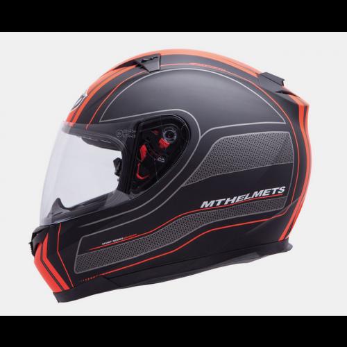Helm Blade SV Raceline Zwart/oranje. Diverse maten.