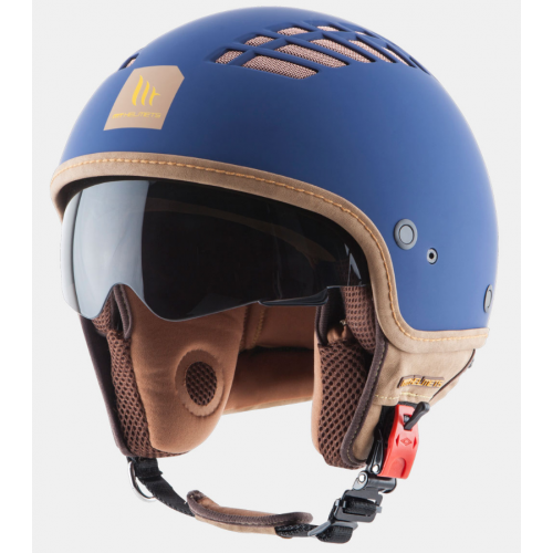 Helm MT Cosmo Blauw. Diverse maten.