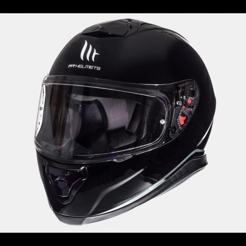 Helm MT Thunder 3 Solid Zwart. Diverse maten.