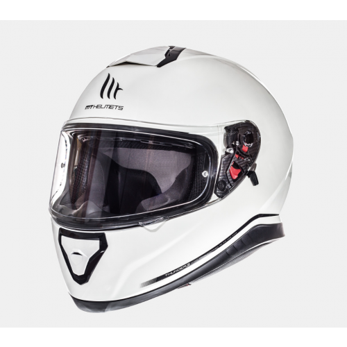Helm MT Thunder 3 Solid Wit. Diverse maten.