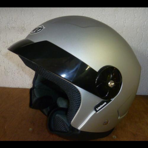 Helm MT Veloce Mat zilver. Diverse maten.