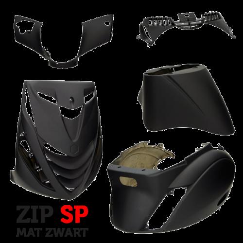 Kappenset Piaggio Zip Sp look mat zwart