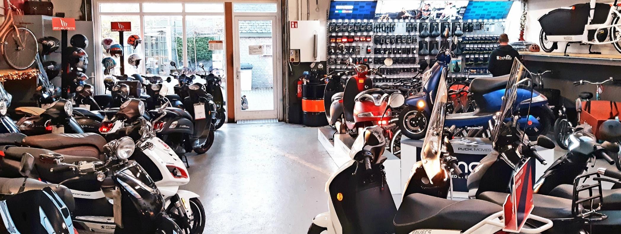Piaggio Vespa scooter onderdelen webshop gratis