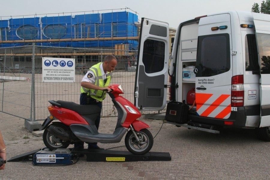 Wok melding scooter kenteken rdw
